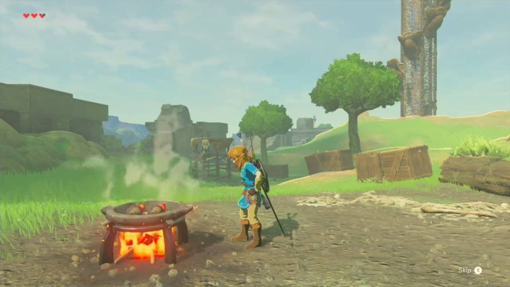 New Breath of the Wild video from Nintendo UK focuses on cooking.