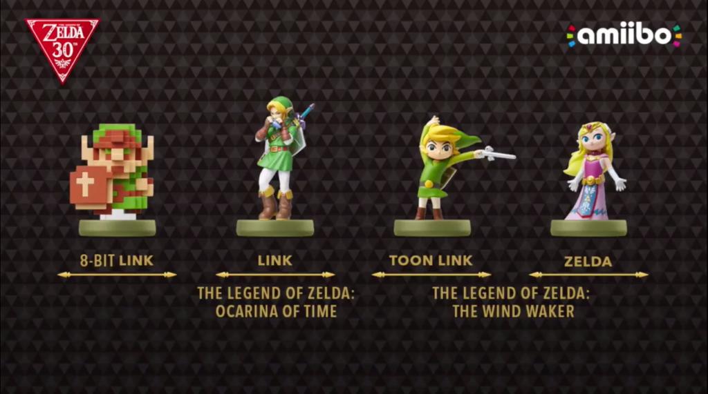 Four new Zelda Amiibos coming this holiday season!