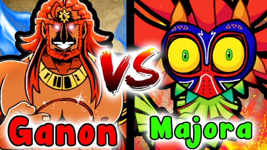 It's a Zelda Showdown!  Majora's Mask Versus Ganondorf