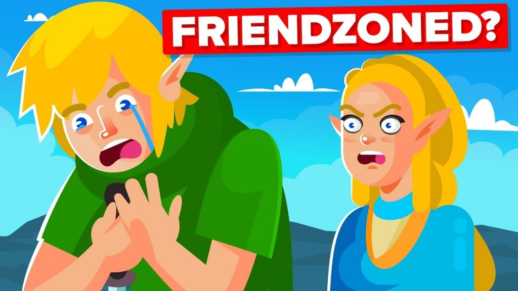 Is Link Stuck in the Friend Zone in The Legend of Zelda Series?