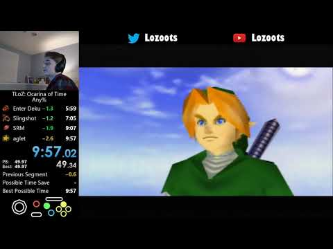 Speedrunner Beats The Legend of Zelda: Ocarina of Time In Under 10 Minutes!