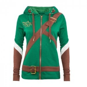 Zelda: Heroine of Hyrule Ladies Cosplay Hoodie