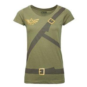 Zelda: Buckle Up Ladies Cosplay T-shirt
