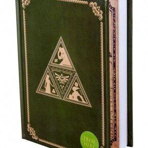 Legend Of Zelda: Hylian Handwriting Triforce Light Up Notebook