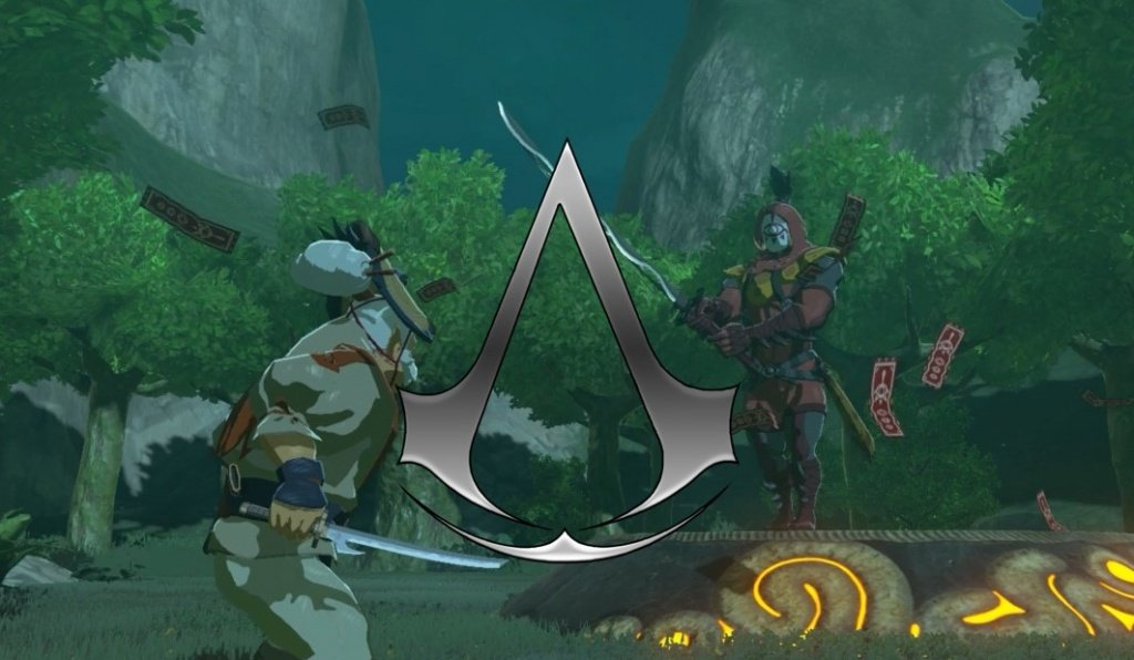 Red's Ramblings: Bring On Assassin's Creed: Hyrule!