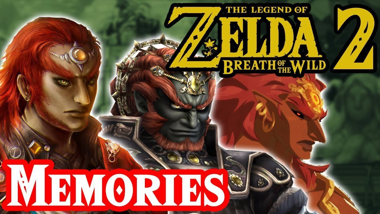 breath of the wild sequel memories ganondorf