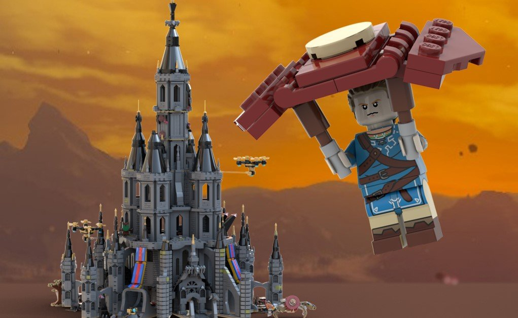 Could This LEGO Hyrule Castle from Breath of the Wild Become a Reality?